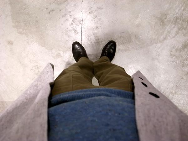 Linen spring coat