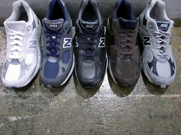 newbalance M991 UK colors