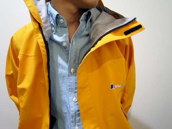 Berghaus GoreTex Yellow