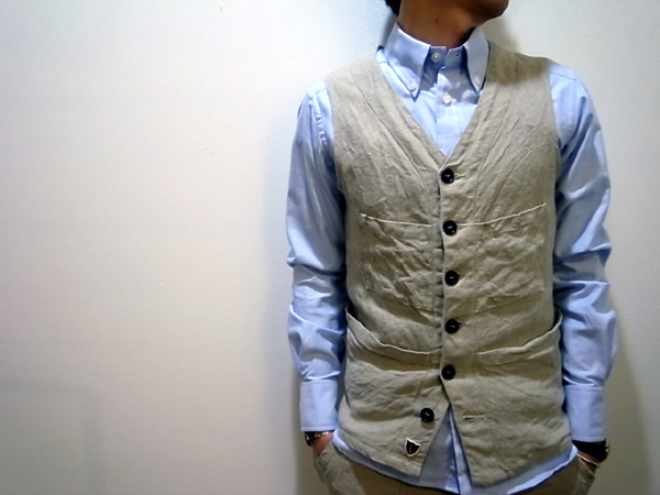 VEST by French Linen
