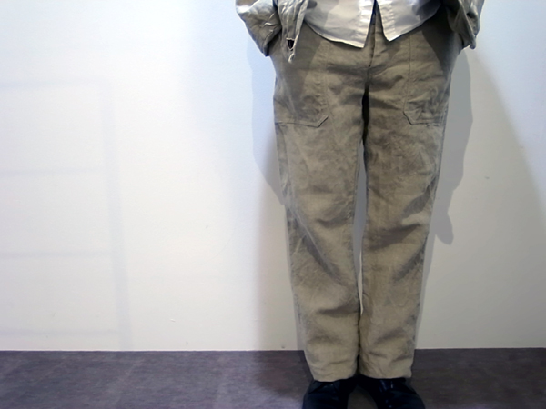 Fatigue pants by French Linen