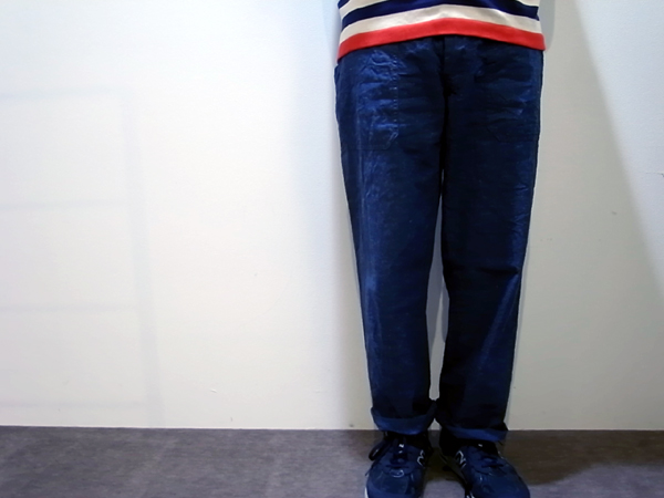Fatigue pants by chambray