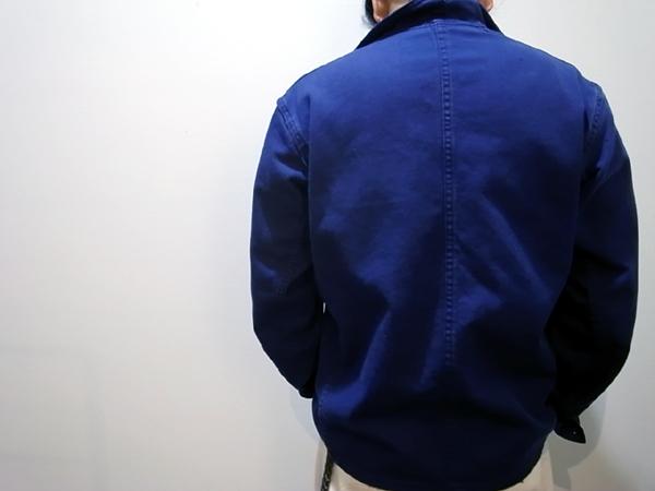 French navy jacket