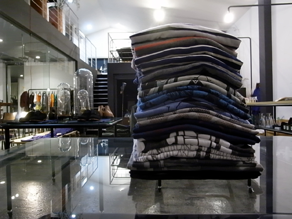 a lot of T-shirts