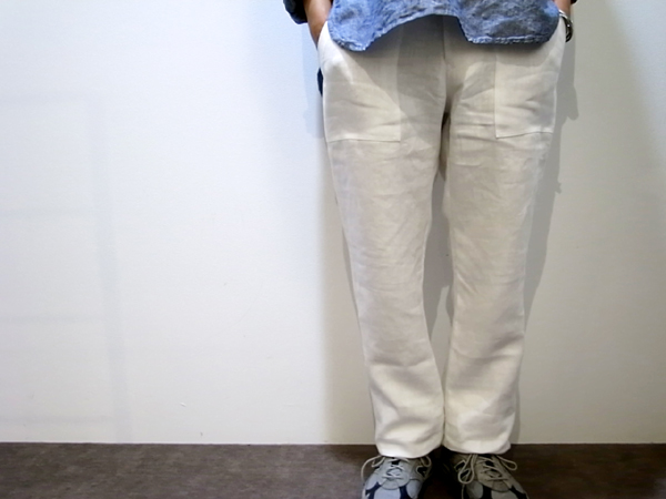 arbre white Linen Pants