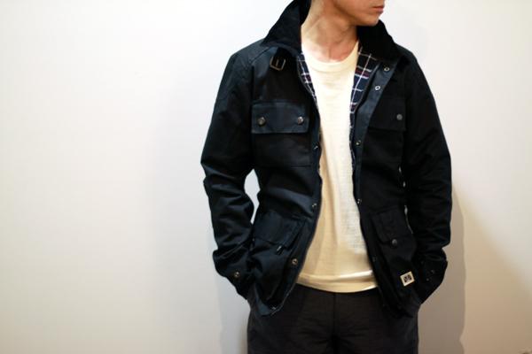 waxed cotton jacket