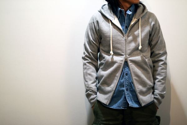 zip-up parka