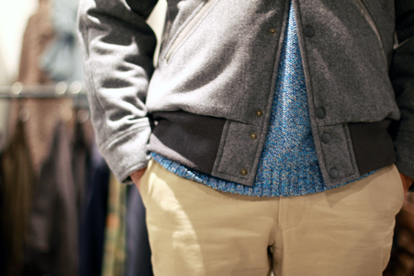 Letterman jacket by FUJITO