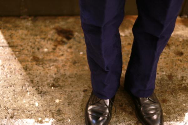 DeadStock French Moleskin Pants