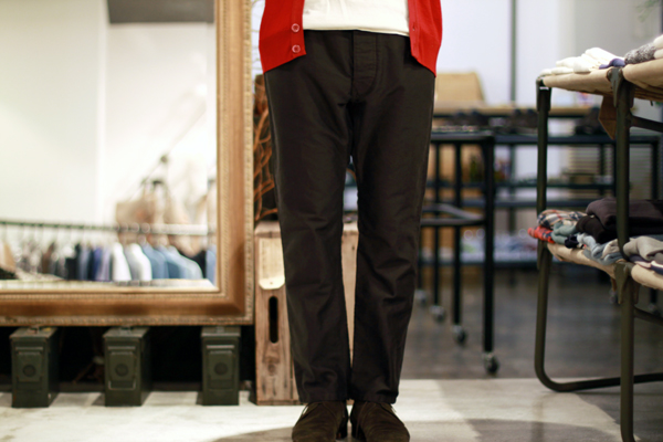 French Moleskin Pants
