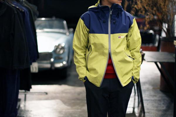 LightYellow GORE-TEX fabric