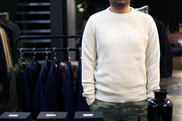 three pattern knit