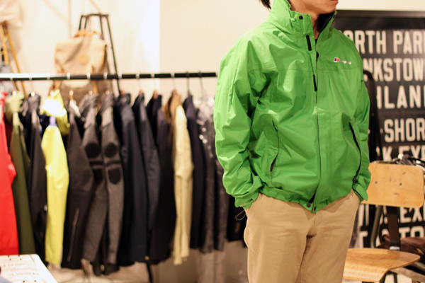 Lime GORE-TEX fabric