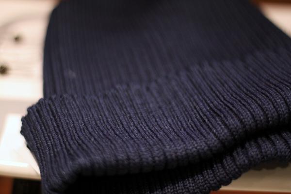 indigo knit cap