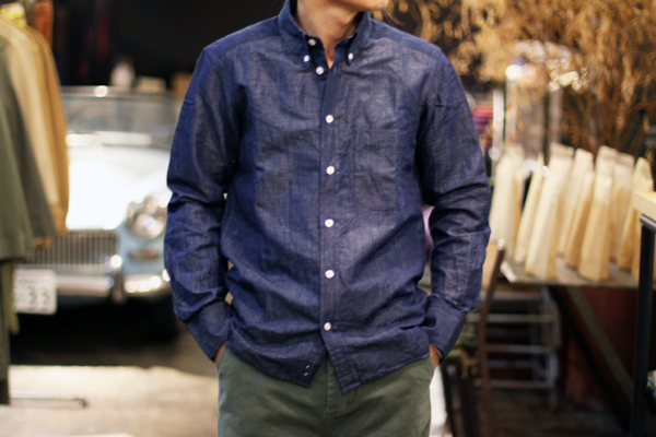 JamesMotimer by chambray fabric