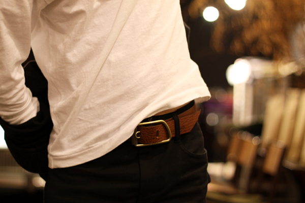 Organic Leather Belt