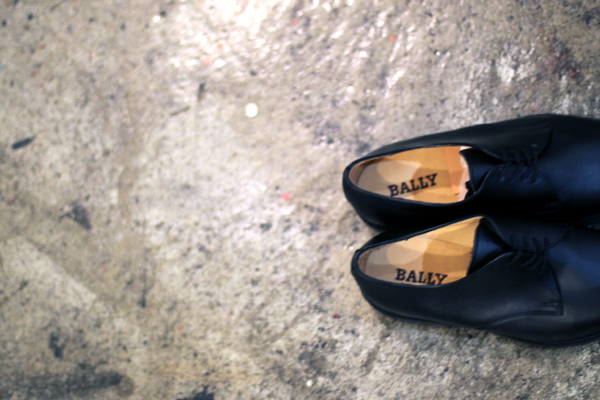 French military service shoes [Bally]