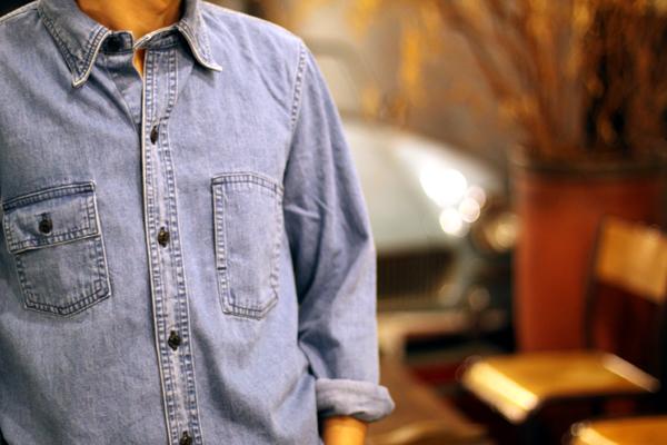 2nd standard shirts by Denim fabric