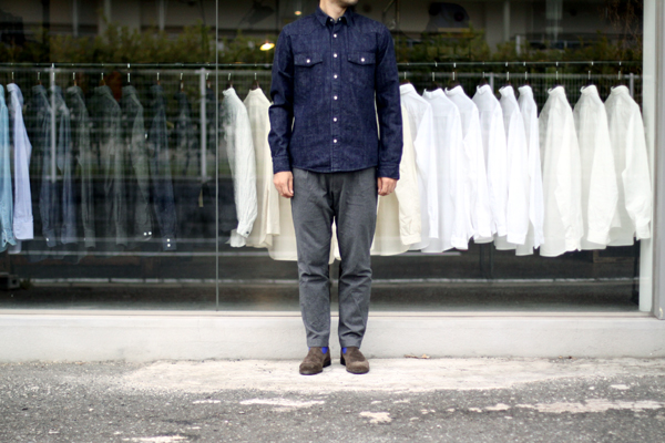 10.5 oz denim shirts