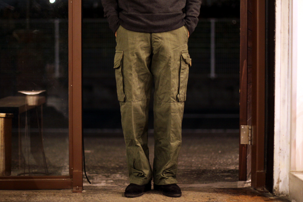 DeadStock French AMRY M47 pants