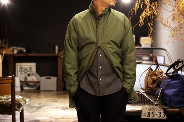PERTEX + FLEECE winter coat