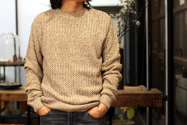 Melange Cotton knit