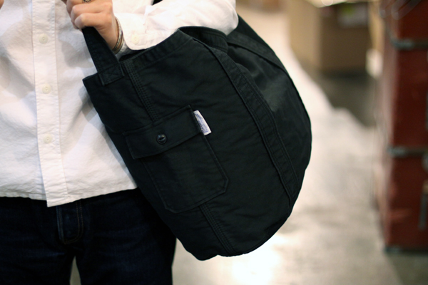 Moleskin 2way carry tote bag
