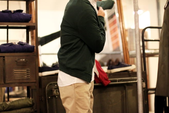 interlock knitting Cardigan from France
